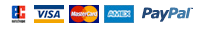 Zahlungsarten: EC VISA MAASTER CARD AMEY PayPal