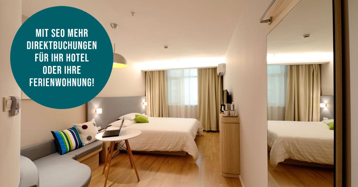 SEO für Hotels und Suchmaschinenoptimierung für Pension, Fereinwohnung oder Hotel von Web-Agentur Berlin.
