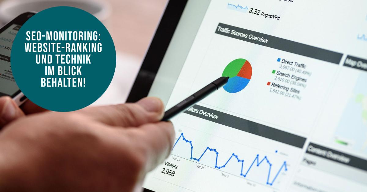 SEO Monitoring Webseiten Suchmaschinenoptimierung Erfolgsmessung AgenTur Berlin