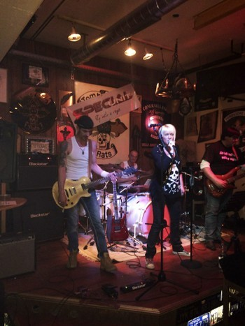 Chlaus-Party MC Tombstone Rats Wil Dezember 2014