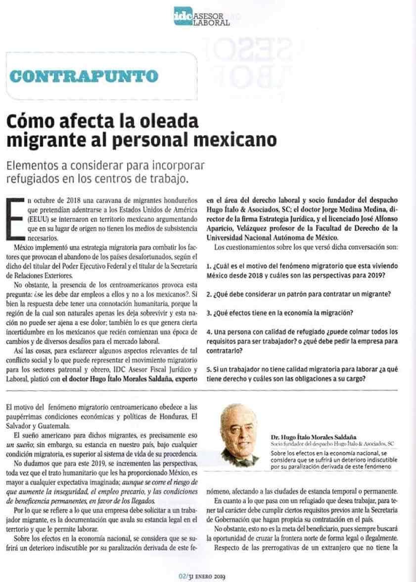 bufete de abogados - derecho migratorio