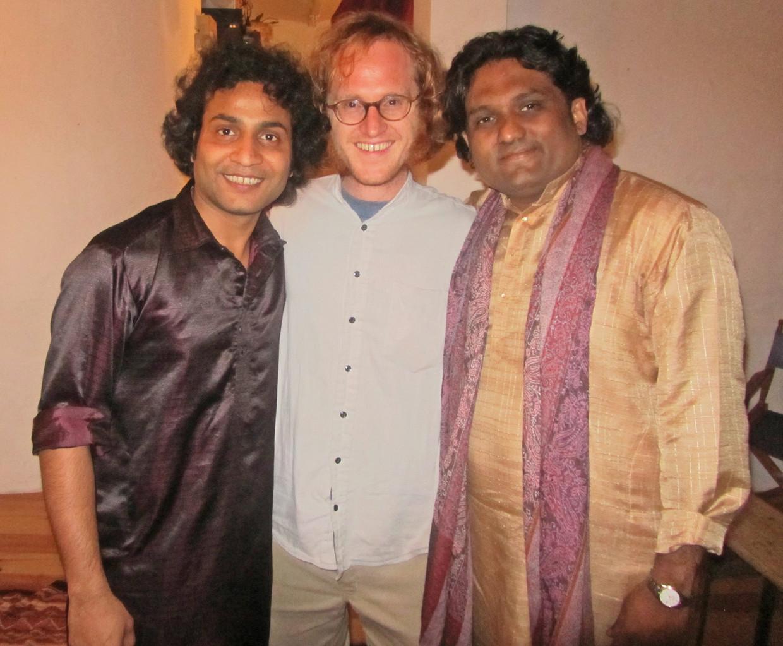 mit Sabir und Imran Khan