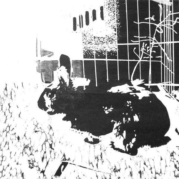 rabbit///aus der Serie The rise of the neo greens///Holzschnitt auf Bütten///90 cm x 90 cm///2008