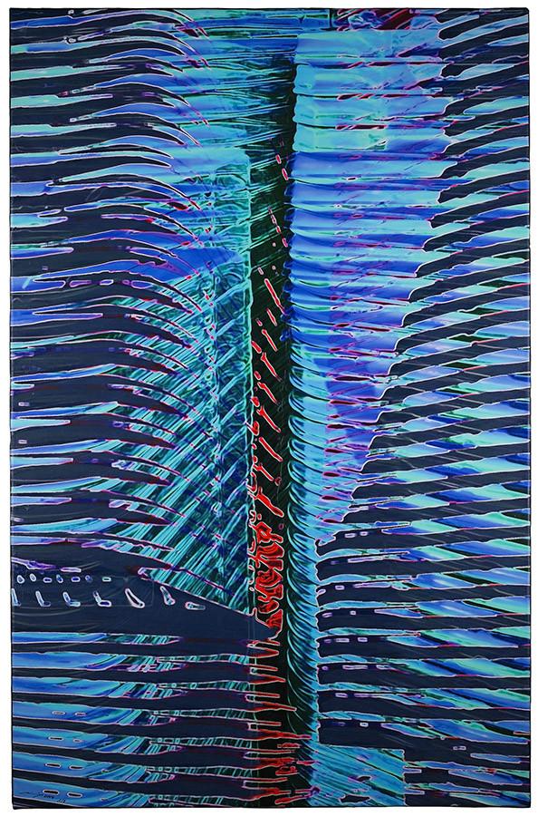 ETAGE 16 (2014, 1/8, 65x100cm, MP0364, Photographie, Inkjet-Pigmentdruck auf Leinwand, Acryl) © Michael Pfenning