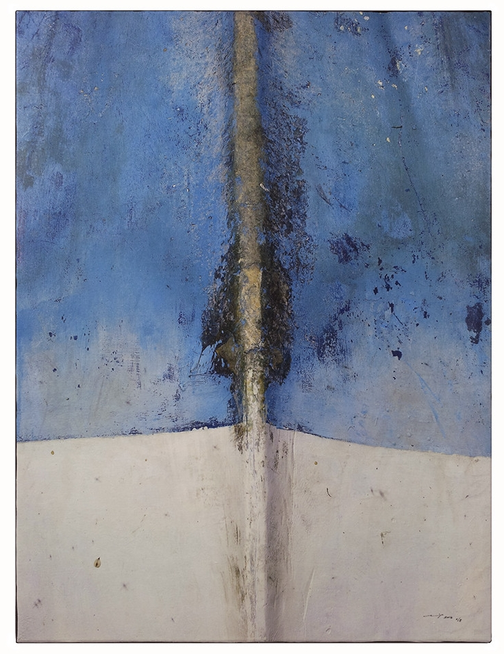 BEL EAU (2016, 1v8, 65x86cm, MP0201, Photographie, Inkjet-Pigmentdruck auf Leinwand, Acryl) © Michael Pfenning