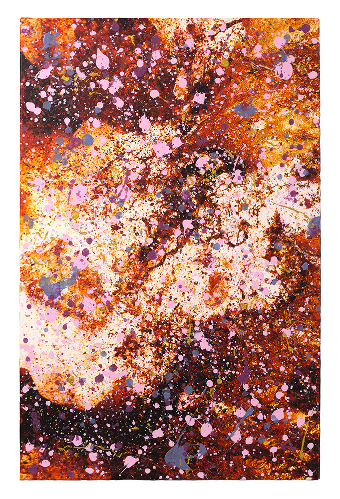 SUMVITA SECONDA (2015, 1/8, 65x100cm, MP0139, Inkjet Pigmentdruck auf Leinwand, Acryl) © Michael Pfenning