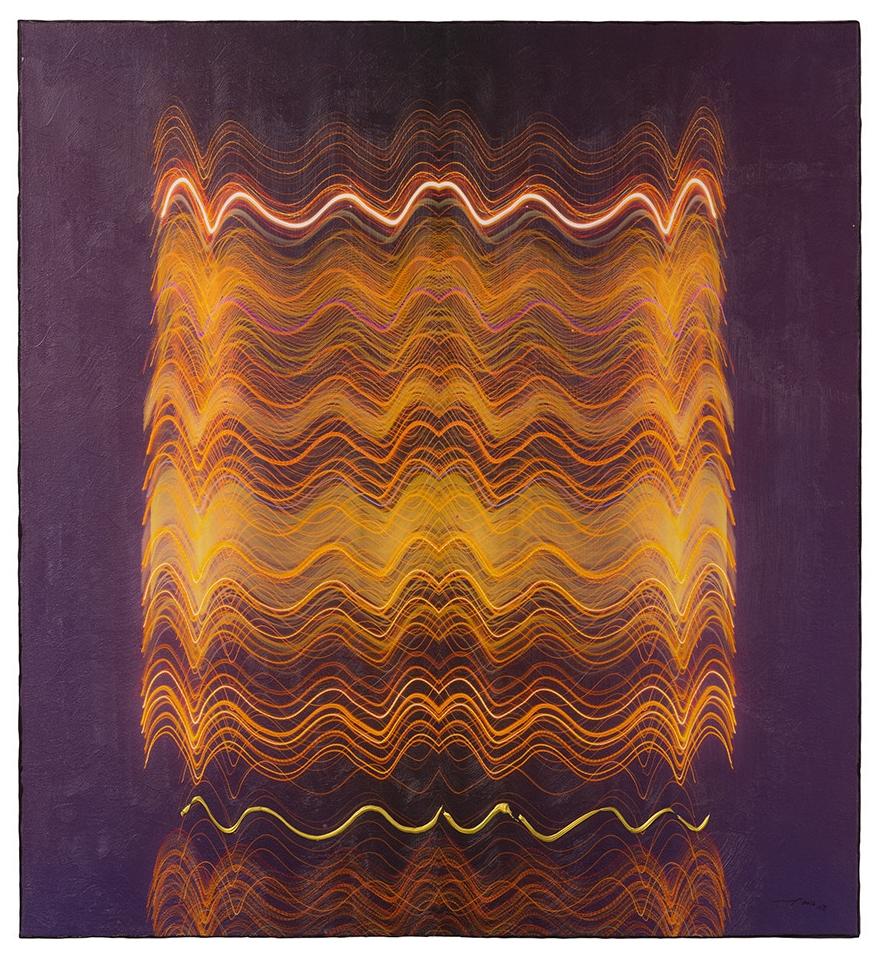NEON LIFE (2016, 1v8, 80x87cm, MP0363, Photographie, Inkjet Pigmentdruck auf Leinwand, Acryl) © Michael Pfenning