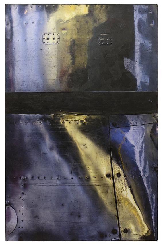 HINEIN (2015, 1/8, 90x140cm, MP0156, Photographie, Inkjet-Pigmentdruck auf Leinwand, Acryl) © Michael Pfenning. Verkauft/Sold