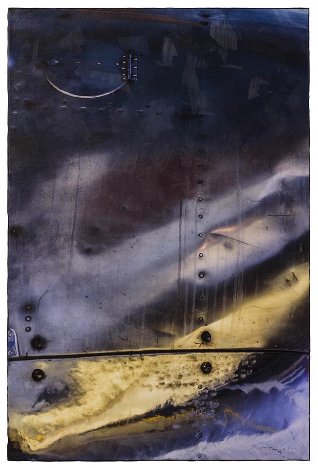 KEIN BERGSPIEL (2016, 1v8, 60x90cm, MP0141, Photographie, Inkjet-Pigmentdruck auf Leinwand, Acryl) © Michael Pfenning