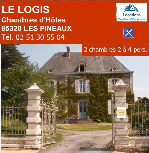 voir site Web LE LOGIS DES PINEAUX