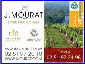 Les vignobles Mourat, partenaire du réseau de gîtes et chambres d'hôtes Sud-Vendée Vacances