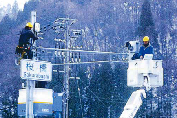 融雪型LED交通信号機