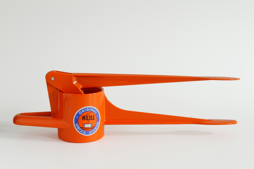 Spätzle-Schwob glänzend orange