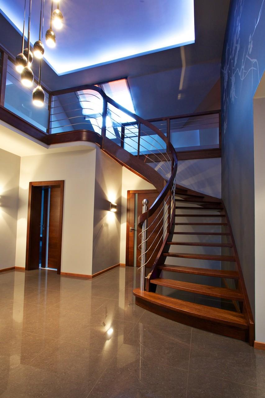 wangentreppe d sseldorf designed by tbs. Black Bedroom Furniture Sets. Home Design Ideas