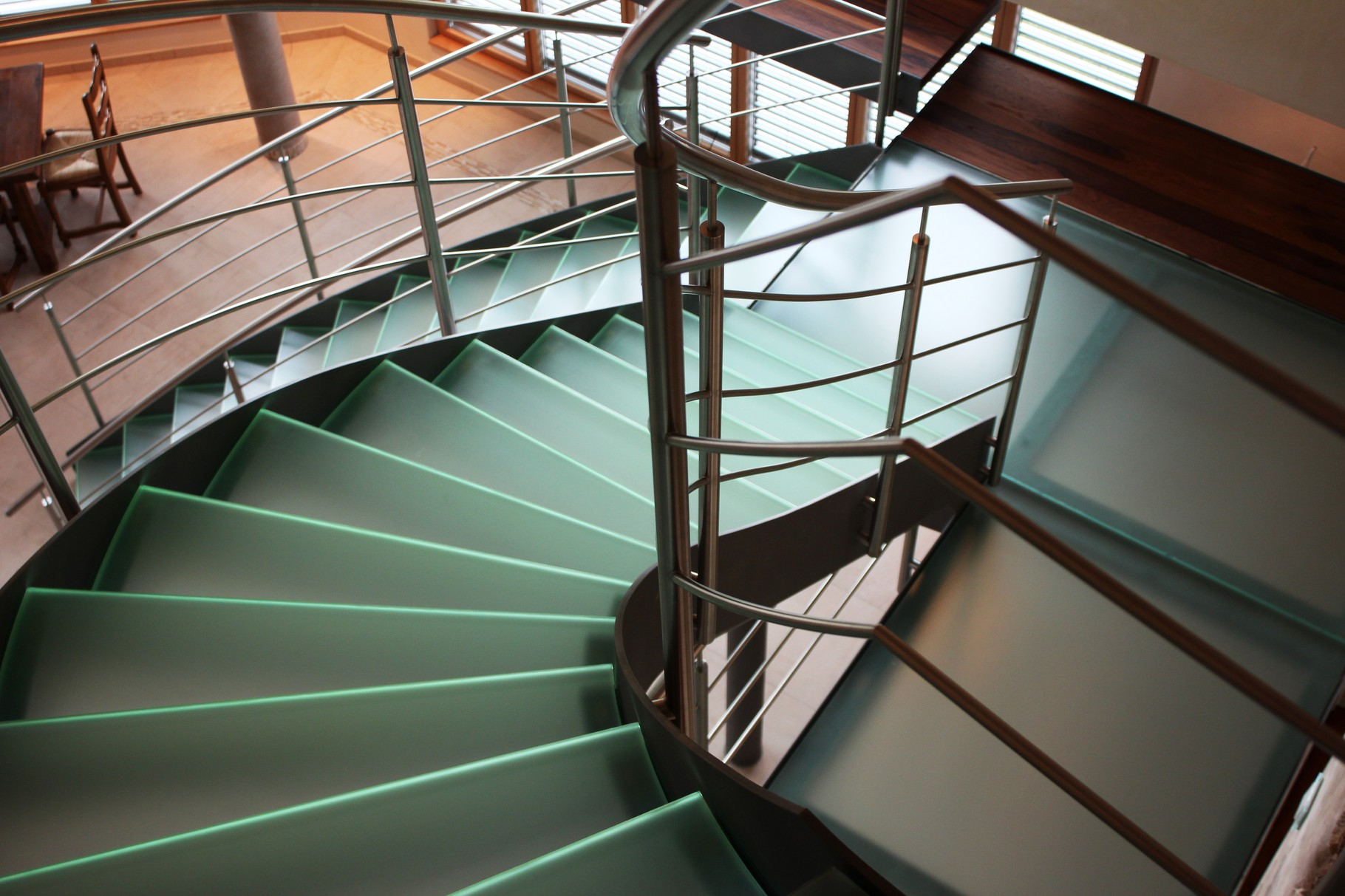 Glastreppe Luxemburg G 110 - Treppe des Jahres 2012