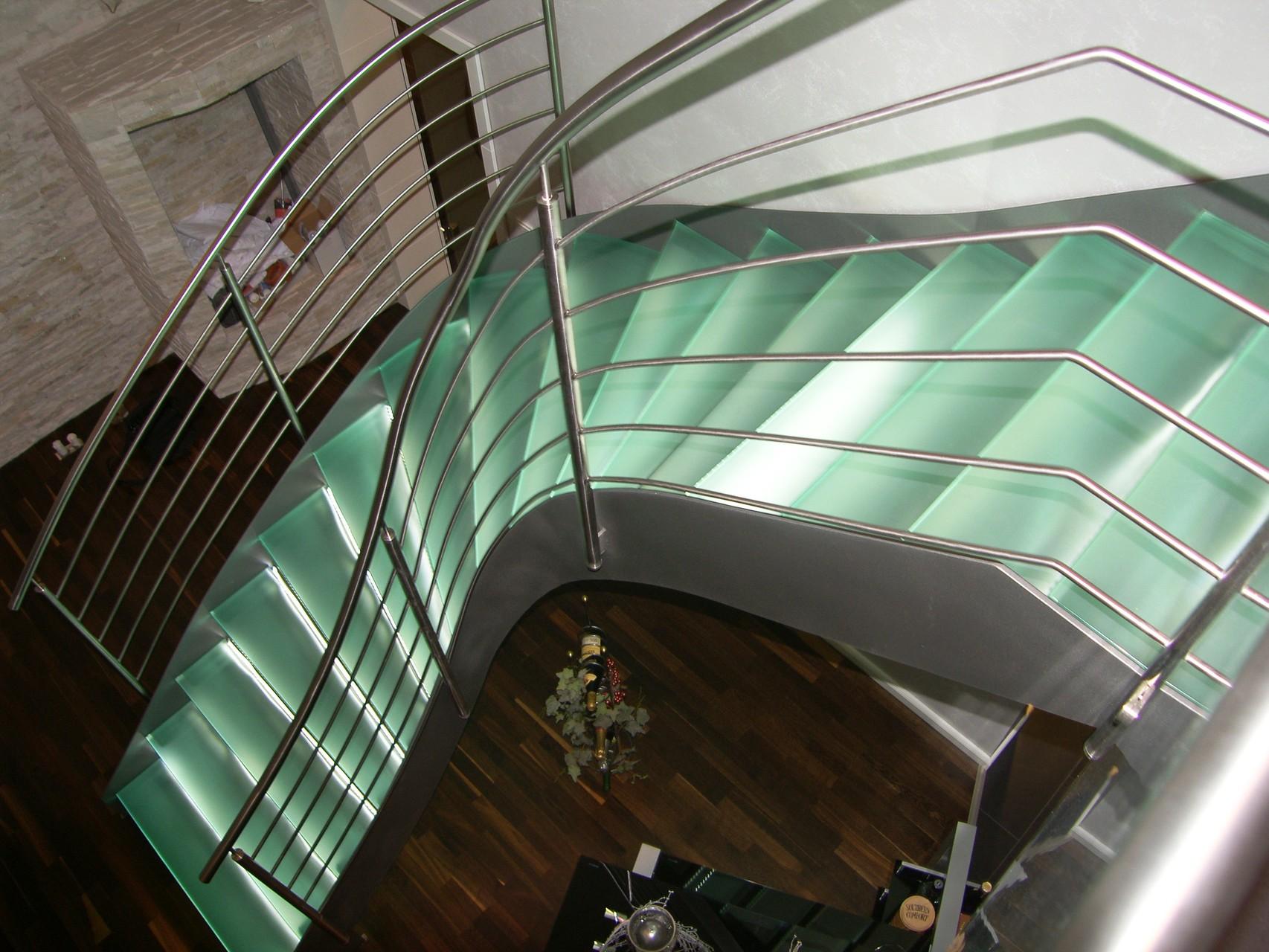 Glastreppe München G100 - Treppe des Jahres 2010