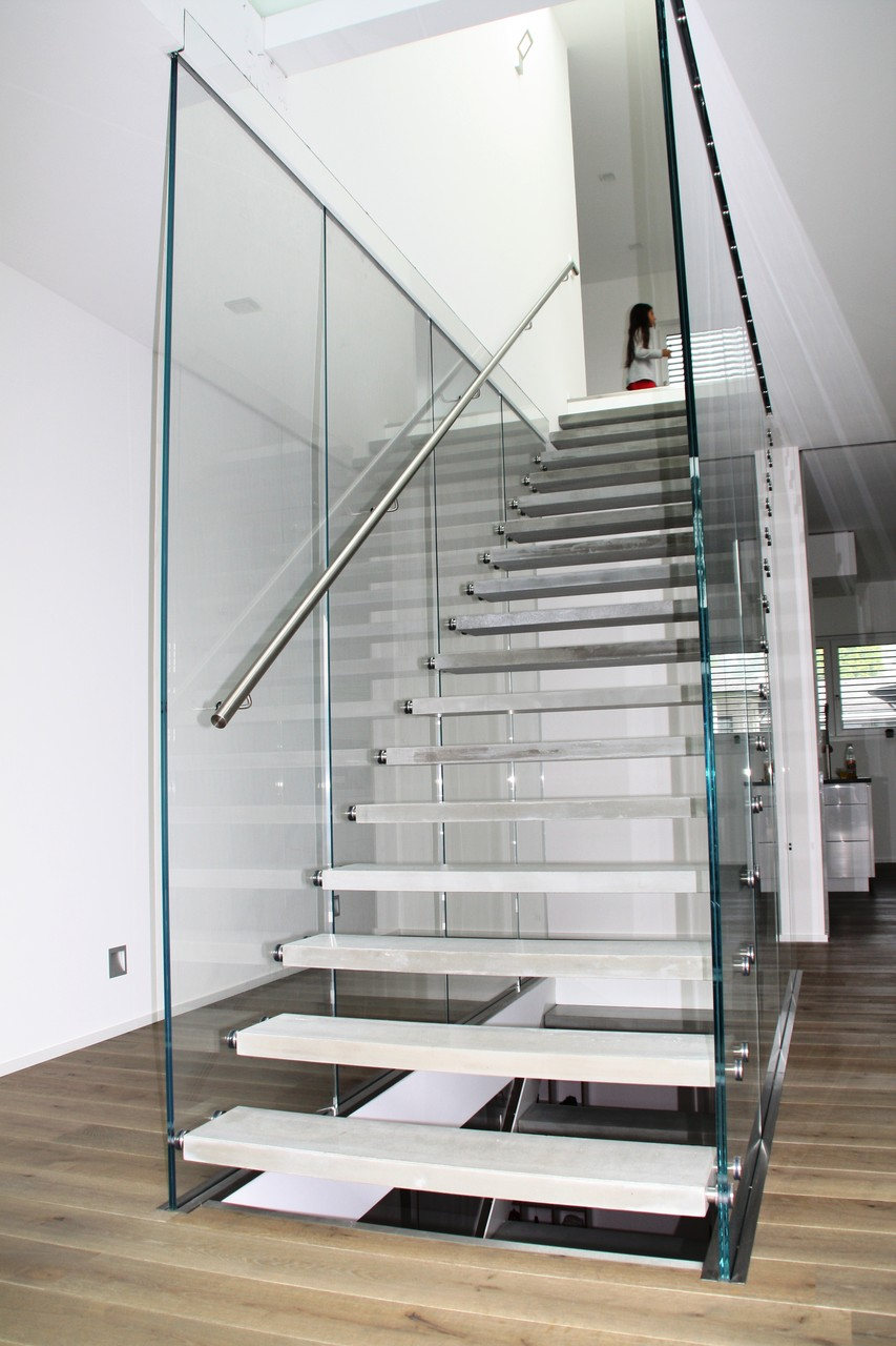Glastreppe Flying Stairs  G 140 - Treppe des Jahres 2014
