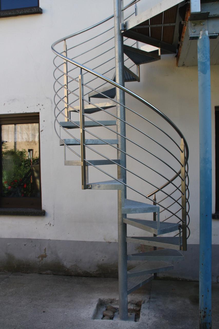 Außentreppe Spindeltreppe AT 120
