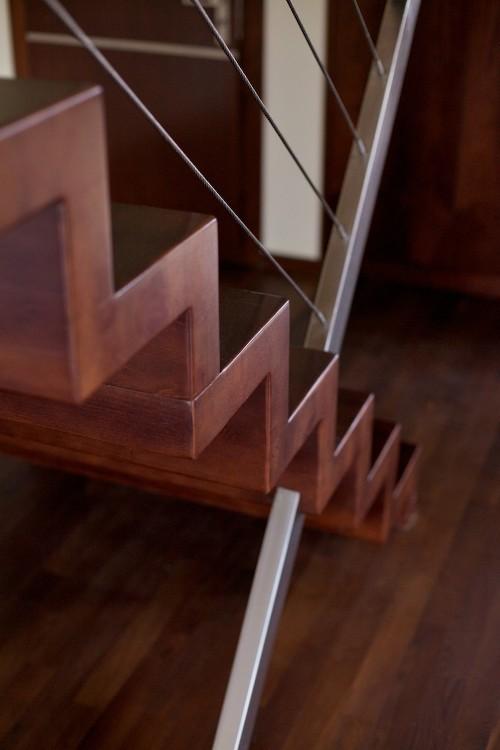 faltwerktreppe siegen designed by tbs. Black Bedroom Furniture Sets. Home Design Ideas