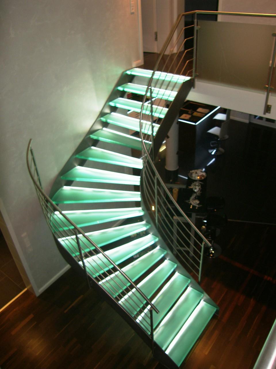Glastreppe München G 100 - Treppe des Jahres 2010