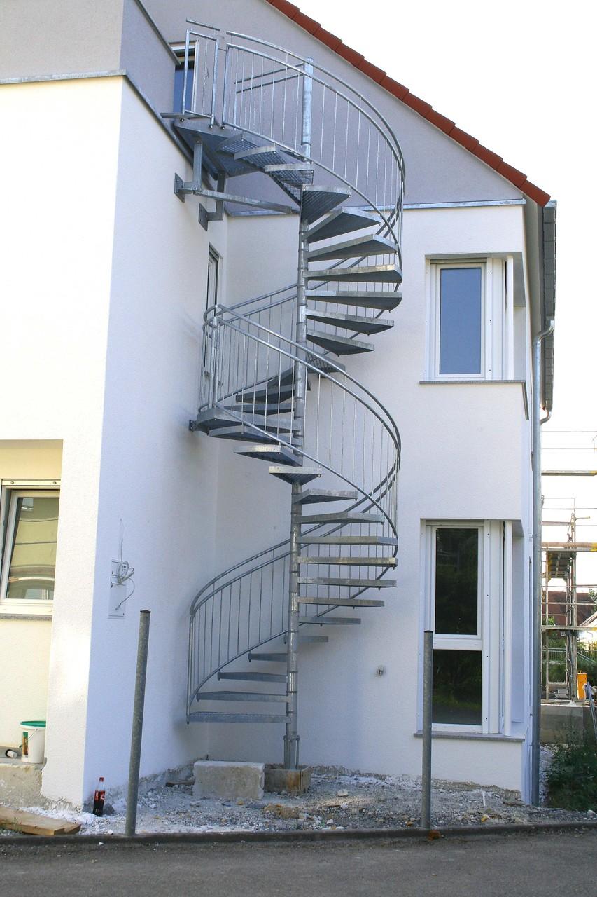 Spindeltreppe Außentreppe AT 110