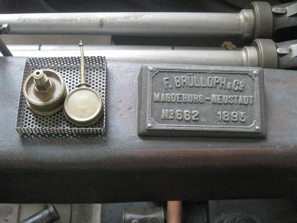 Dampfmaschine 1895