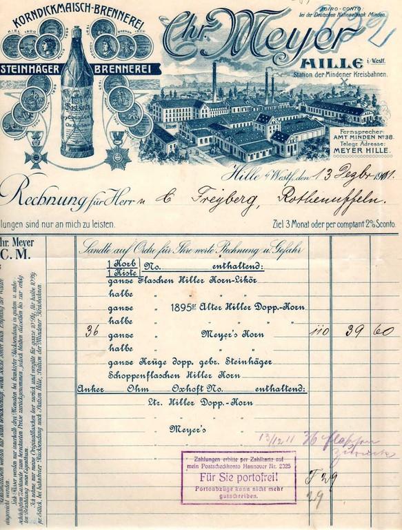 1911 - Medaillen