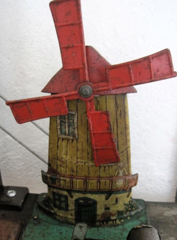 die Windmühlenflügel