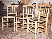 Der Hiller Stuhl wird gedrechselt|Foto: pr