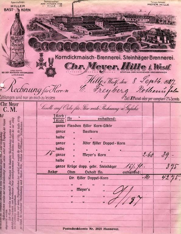 1927 - mit Villa - nahezu unverändert von ca. 1914 - ca. 1935