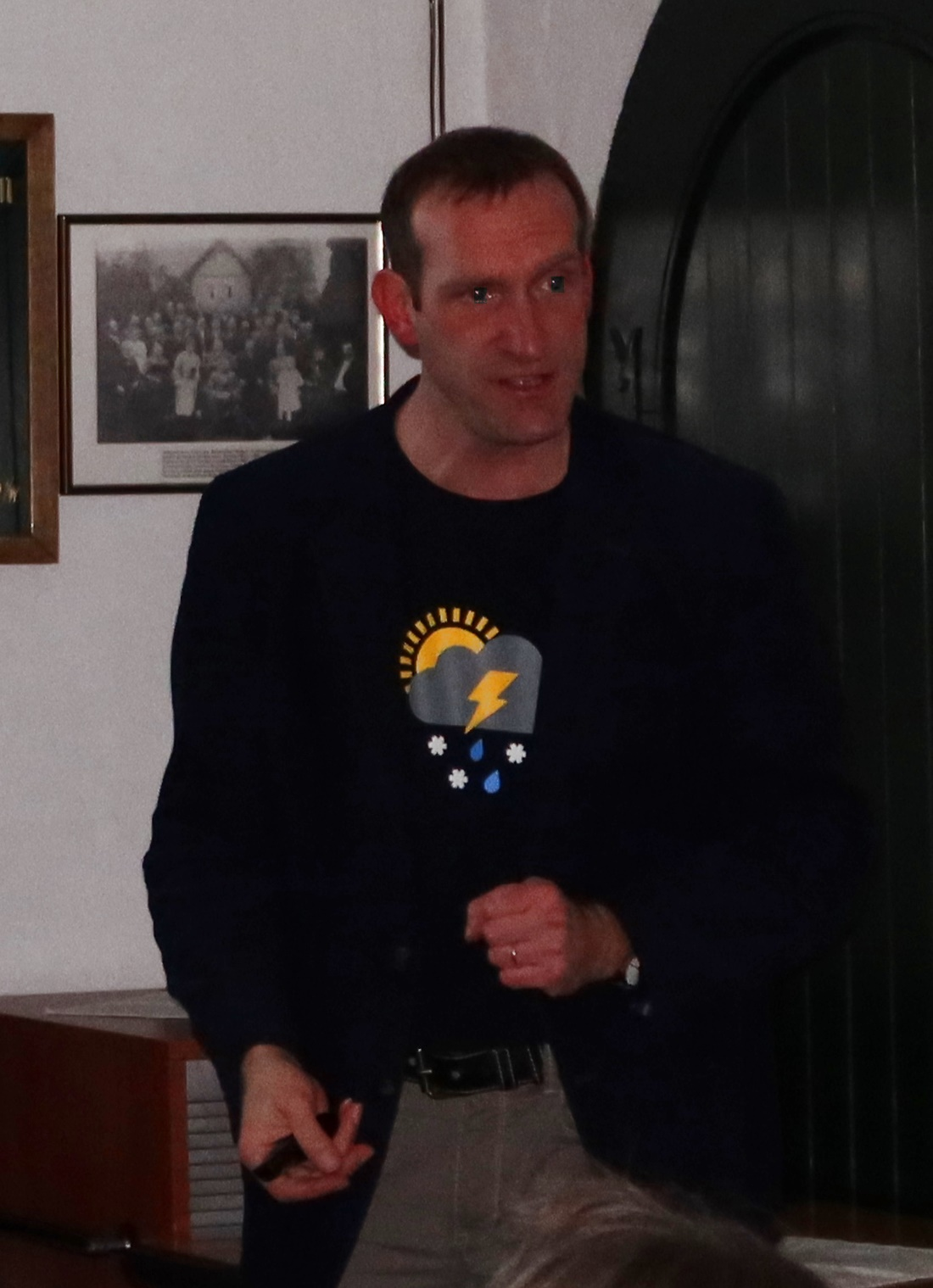 Dipl.-Meteorologe Friedrich Föst am 15. März