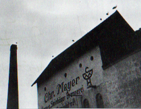 Kornbrennerei Meyer ca. 1965