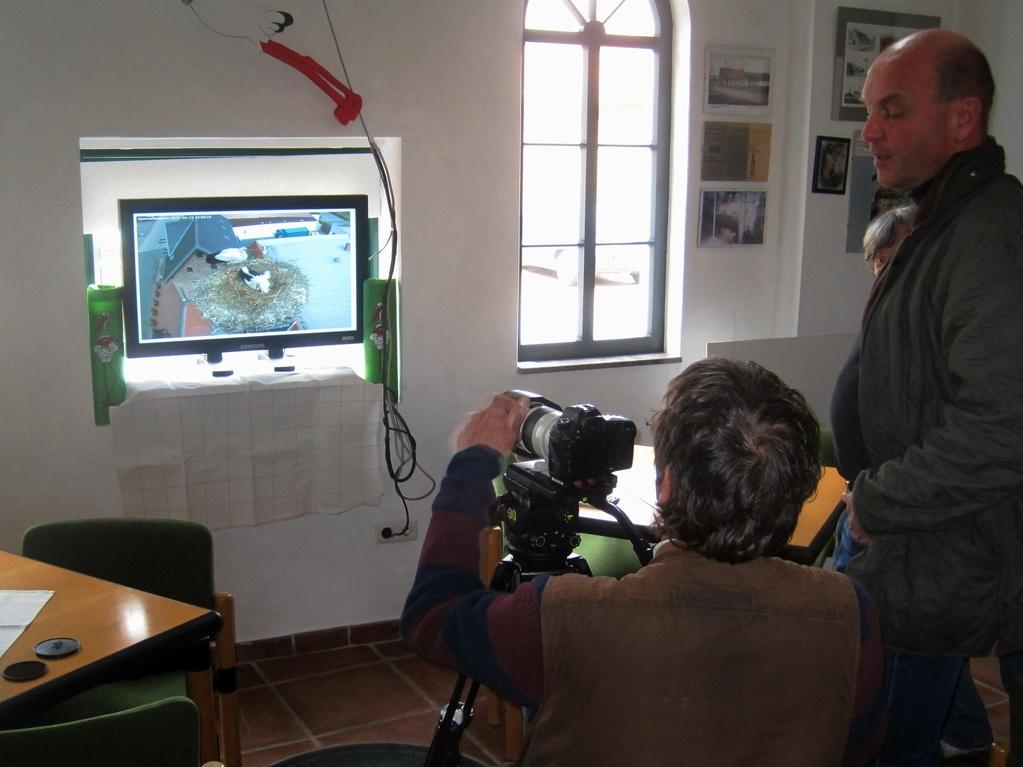 WDR-Fernsehen filmt am 19. April