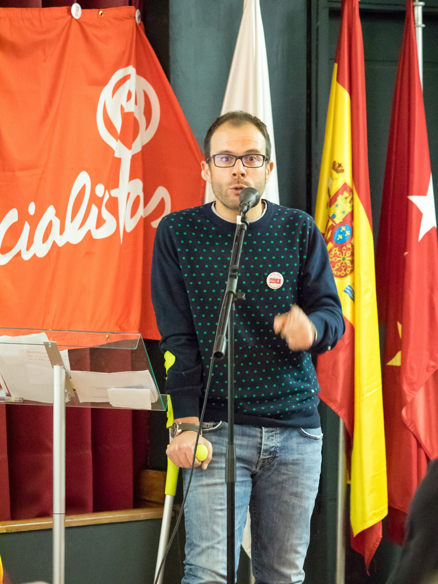 Daniel Viondi, Diputado Autonómico de la Comunidad de Madrid y Sº de Área de Desarrollo Global de Ciudades y Municipios PSOE-M