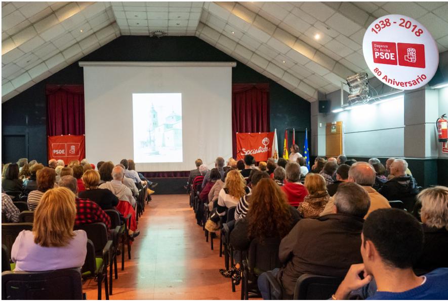 Presentación Elvira Izquierdo Secretaria General, PSOE Daganzo