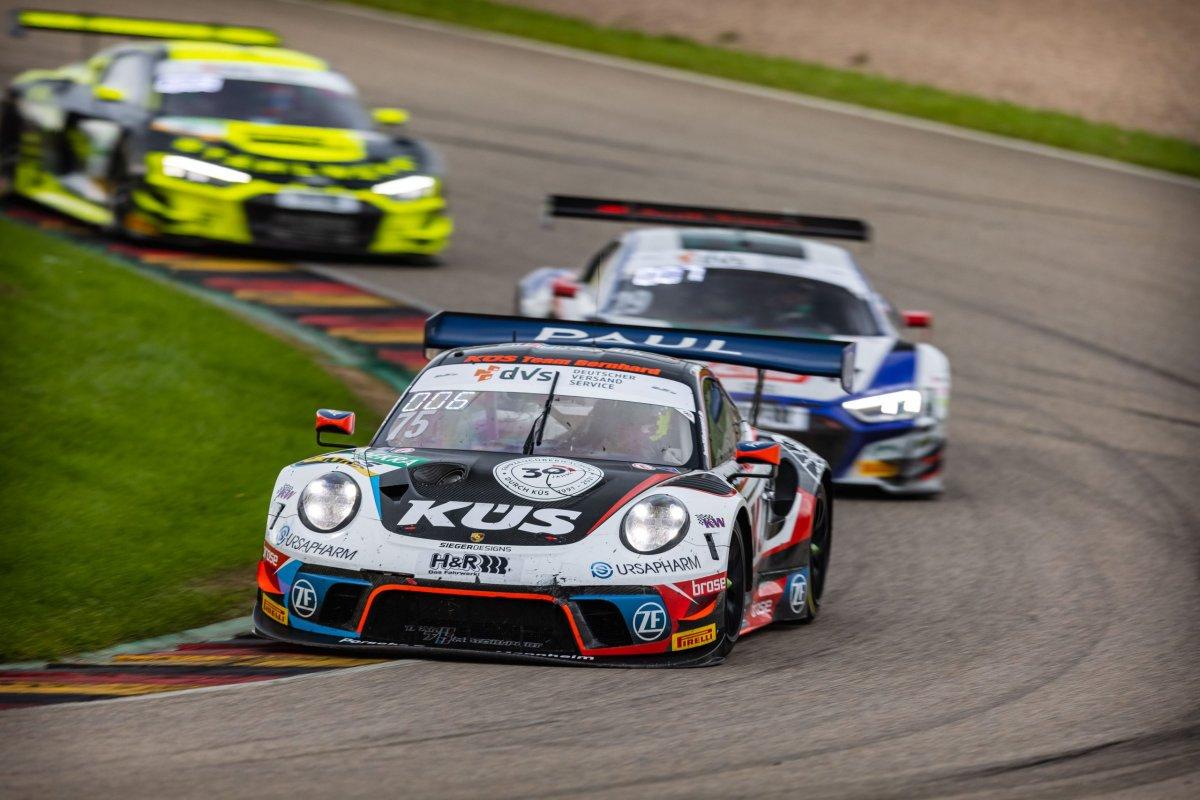 KÜS Team Bernhard in ADAC GT Masters und ADAC GT4 Germany am Hockenheimring