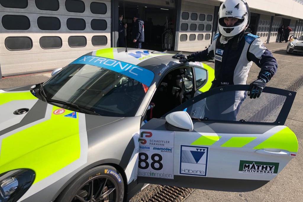 Sandro Ritz mit GT4-Porsche von W&S Motorsport im GTC Race