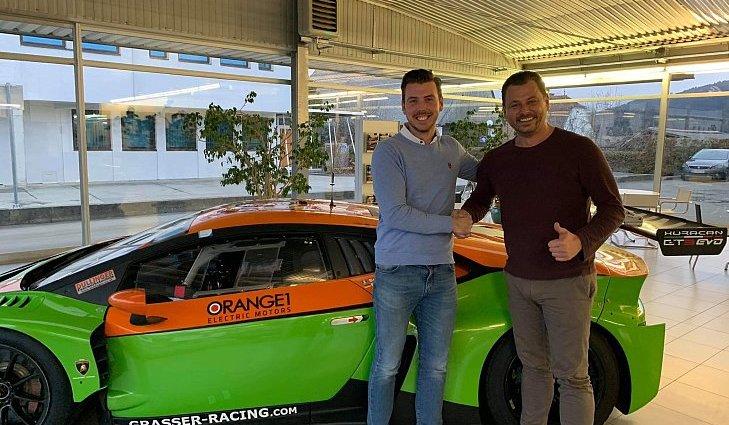 Niels Langrage startete in den letzten drei Jahren in der Lamborghini Super Trofeo