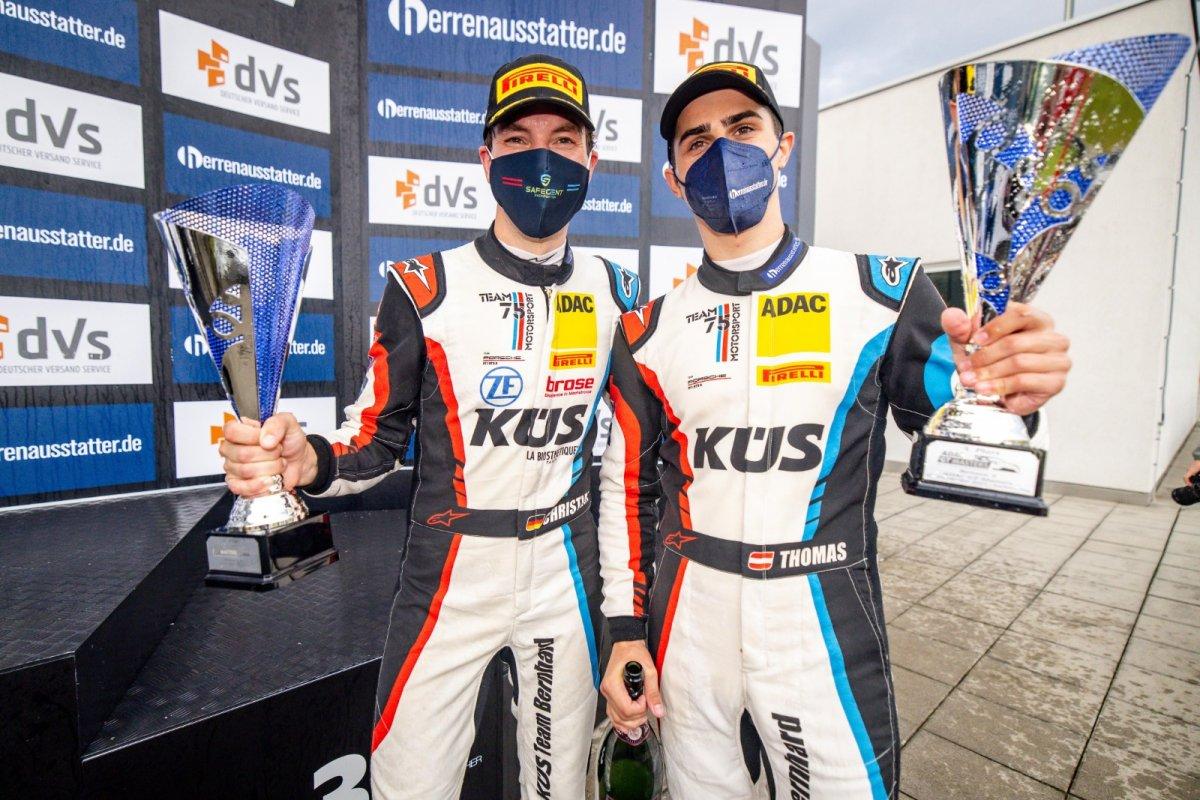 KÜS Team Bernhard im Sonntagsrennen zum ADAC GT Masters am Sachsenring