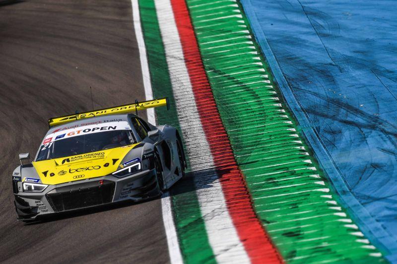 Lokalmatadore glänzen im heißen Imola: Agostini-Ferrari (Audi Sport Italia) an der Spitze des Freien Trainings