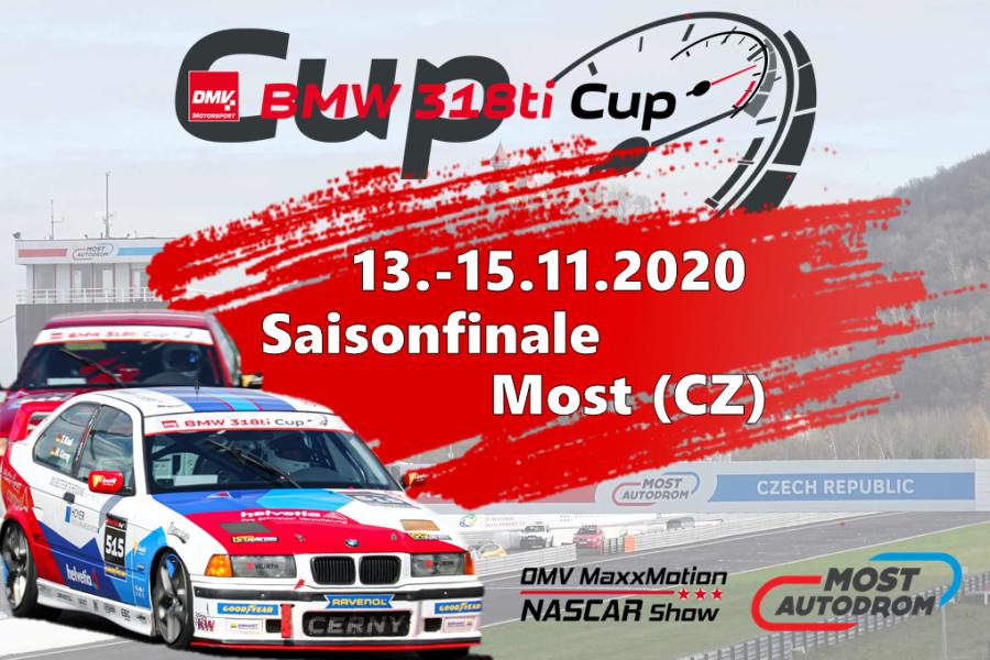 DMV BMW 318ti Cup startet erstmals in Most – NASCAR im Rahmenprogramm