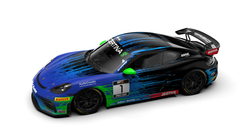 Allied-Racing bestätigt Fahrer für erweiterten Porsche GT4-Einsatz