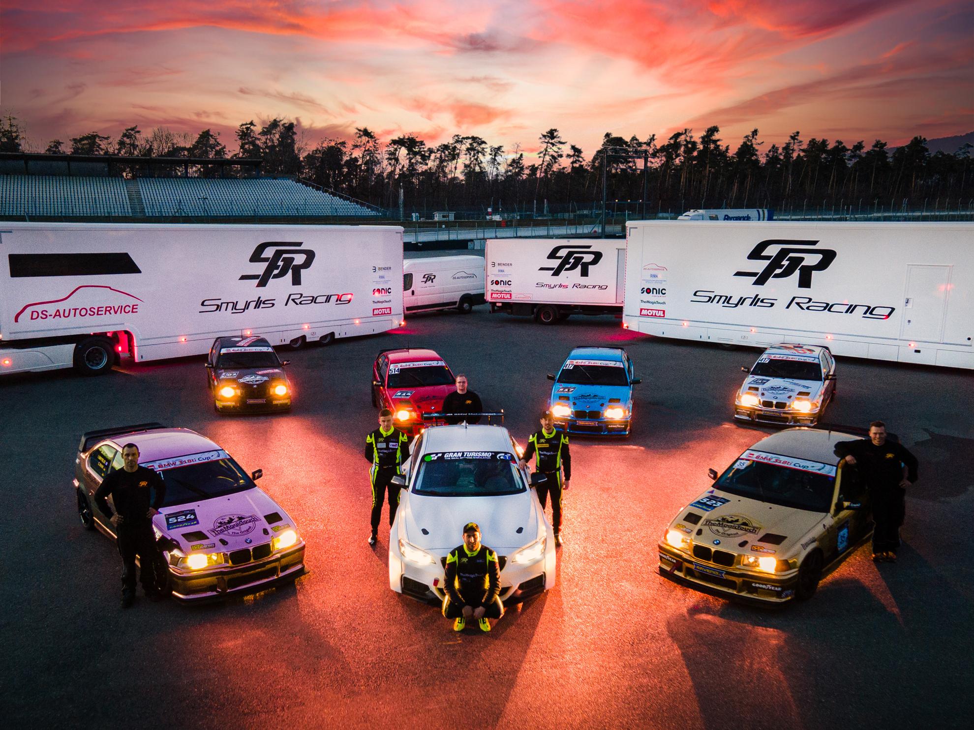 Smyrlis Racing startet mit starker Mannschaft im DMV BMW 318ti Cup