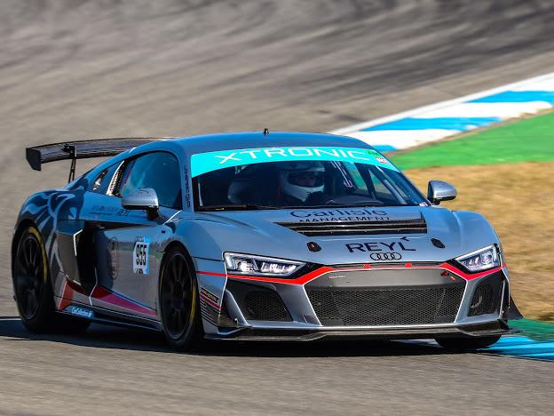Car Collection Motorsport mit zwei Audi R8 LMS GT4 in GTC Race