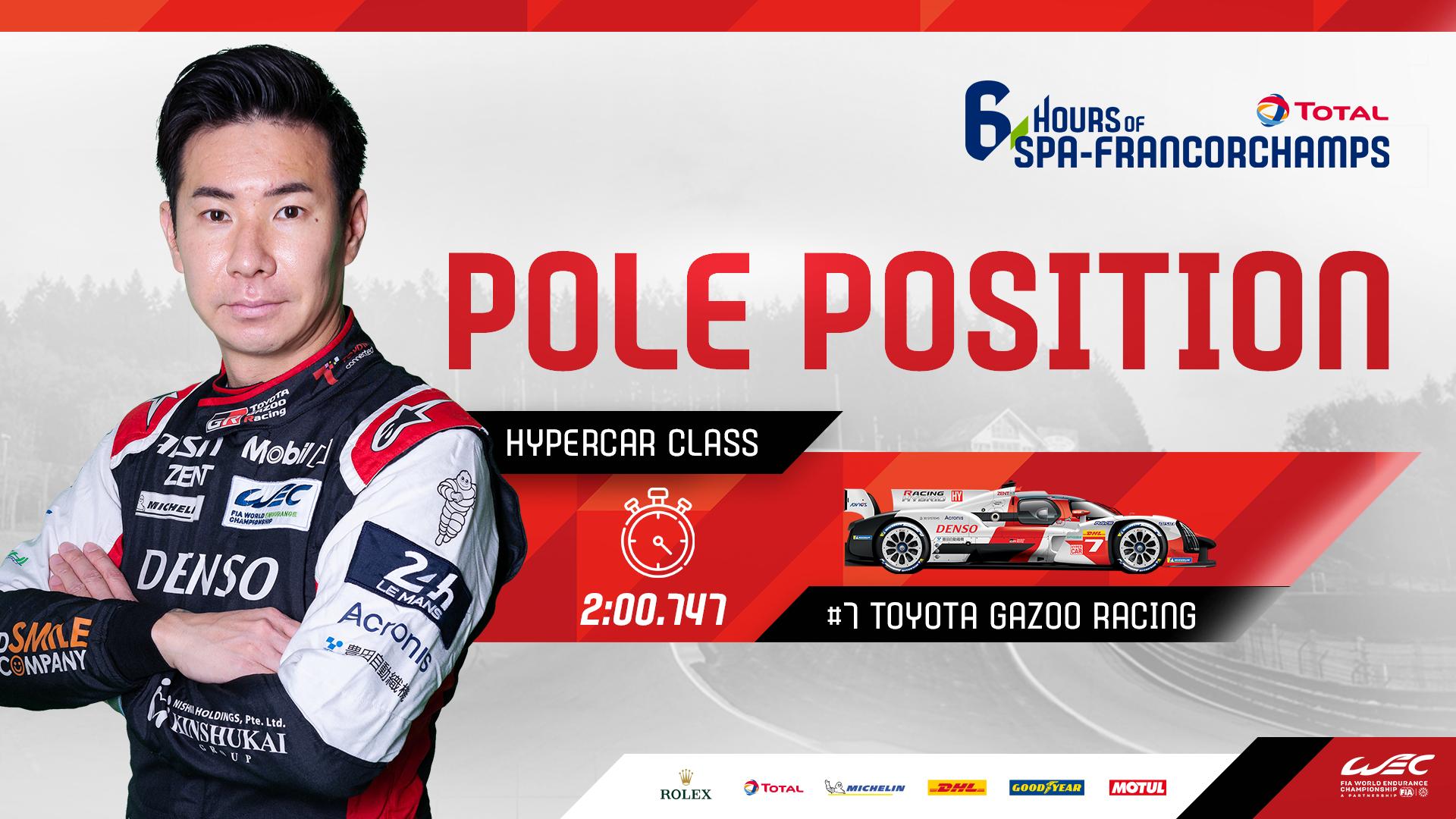 Kobayashi holt Hypercar-Pole; Estre startet für Porsche in der LMGTE Pro von ganz vorne