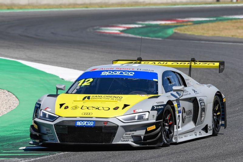 Audi Sport Italia debütiert in der GT Open in Imola mit Agostini-Ferrari