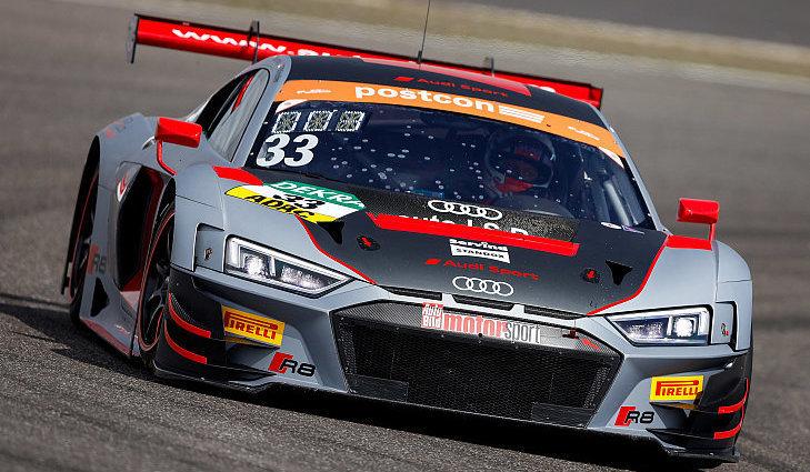 Pilotiert wird der Audi R8 LMS mit der Startnummer 33 auch in diesem Jahr von Filip Salaquarda und Frank Stippler