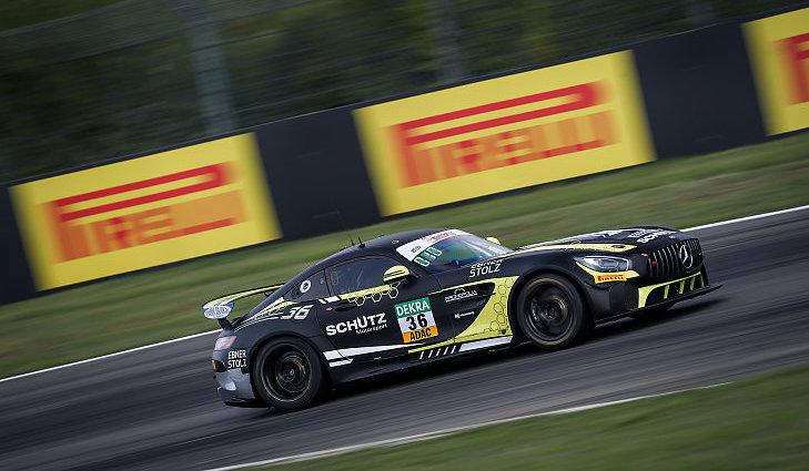 Schon 2019 trat Schütz Motorsport mit einem Mercedes AMG GT4 in der GT4 Germany an