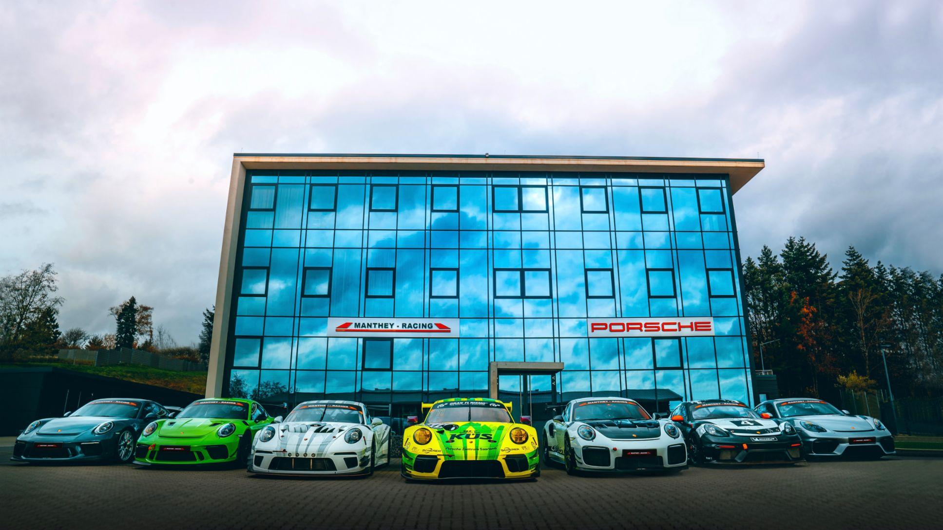 Manthey-Racing gelingt der Aufstieg vom Motorsport-Team zum Partner