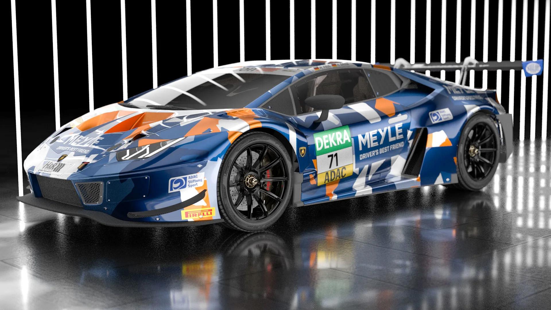Spektakulärer Look: der erste Lamborghini von T3 Motorsport